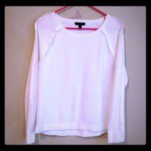 J. Crew women's sweater, cotton, long sleeves, new